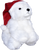 "Santa Hat for Stuffies 12"""