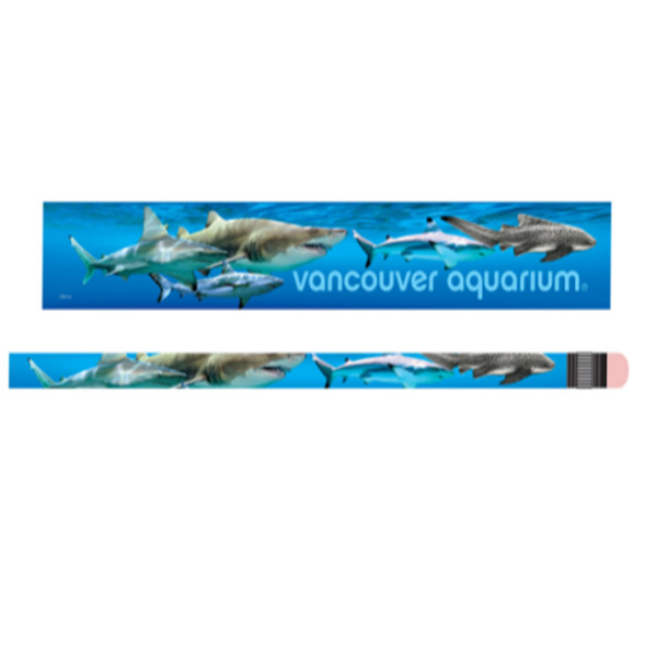 Kids' pencil with pattern of Sharks