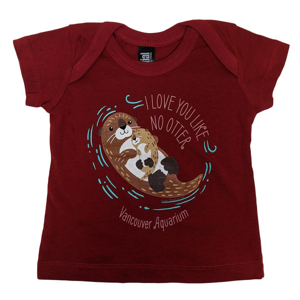 Love You like No Otter, infant t-shirt