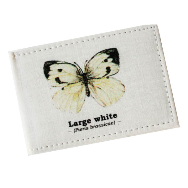 Business Card holder with butterfly picture