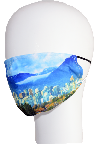 Vancouver Skyline non-medical Face Mask