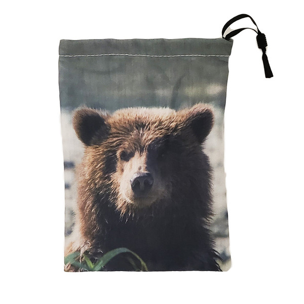Grizzly Bear Facemask bag
