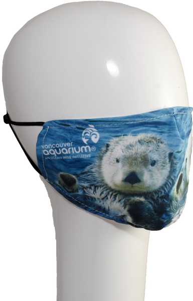 Sea Otter Pair non-medical Face Mask