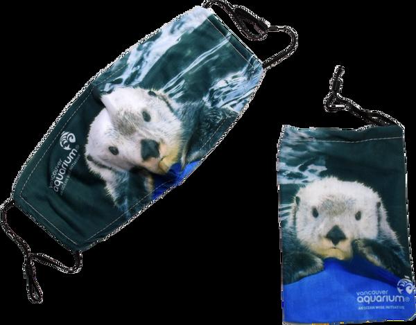 Sea Otter Elfin Face Mask