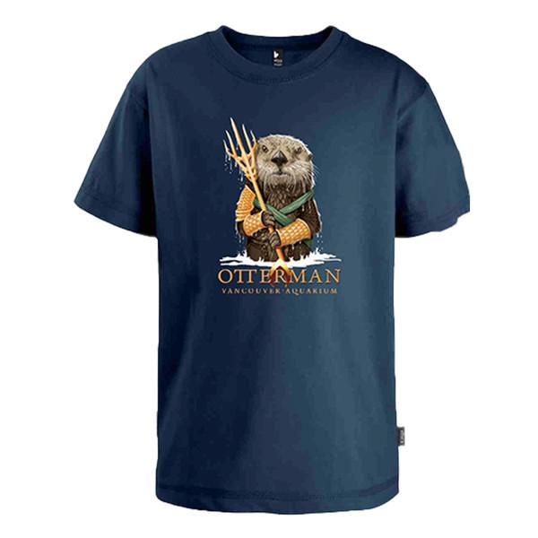 Otterman t-shirt, navy