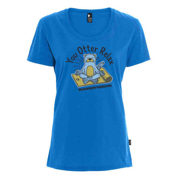 you otter relax womens tshirt