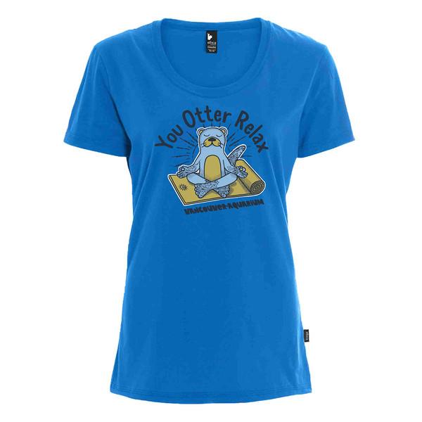 you otter relax womens tshirt