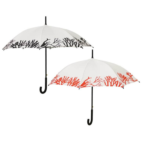Coral Umbrella with Logo