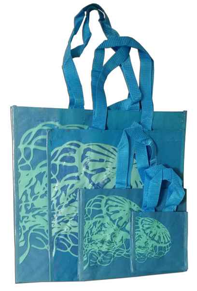Tote bag with jelly fish art