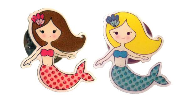 Mermaid Lapel Pin