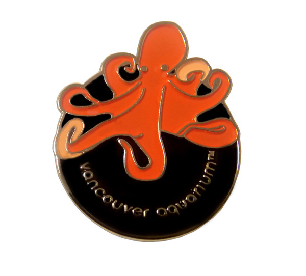 Octopus Lapel Pin