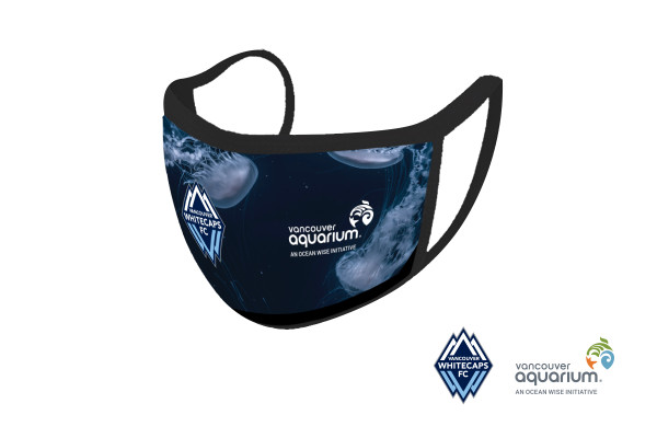 whitecaps and vancouver aquarium facemask