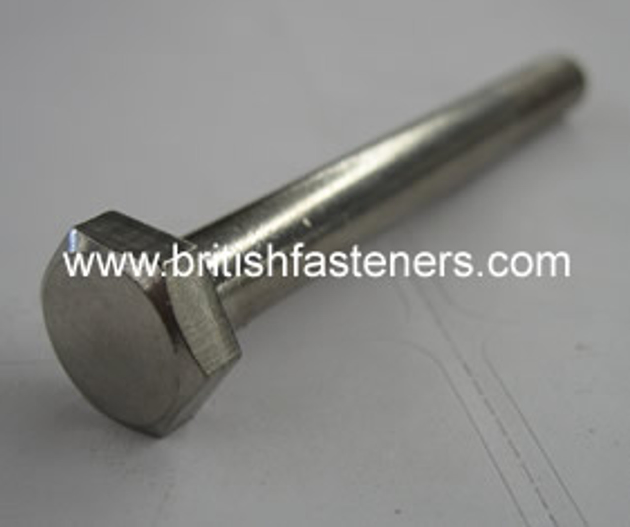 "Stainless Bolt BSC Hex 5/16 x 1 3/4"" - (6430)"