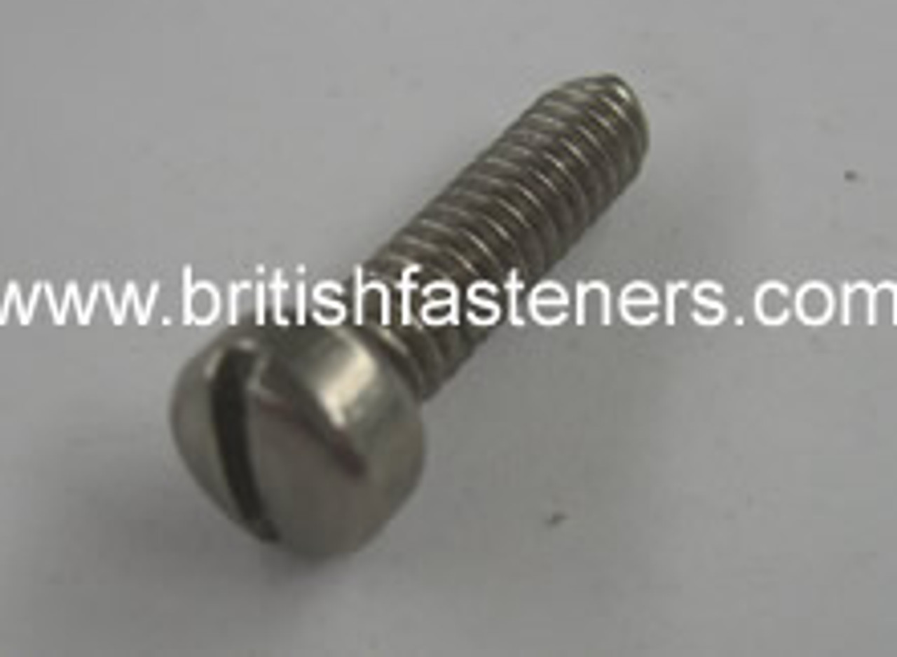 """UNC SCREW STAINLESS 10/24 PHILISTER x 1/2"""" - (7045)"""