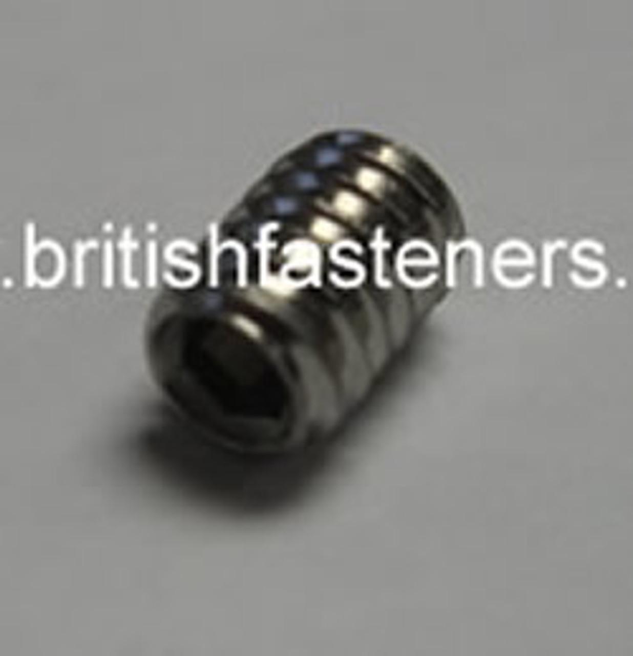 Stainless Grub Screw BSW 1/4 x 3/8 - (7315)