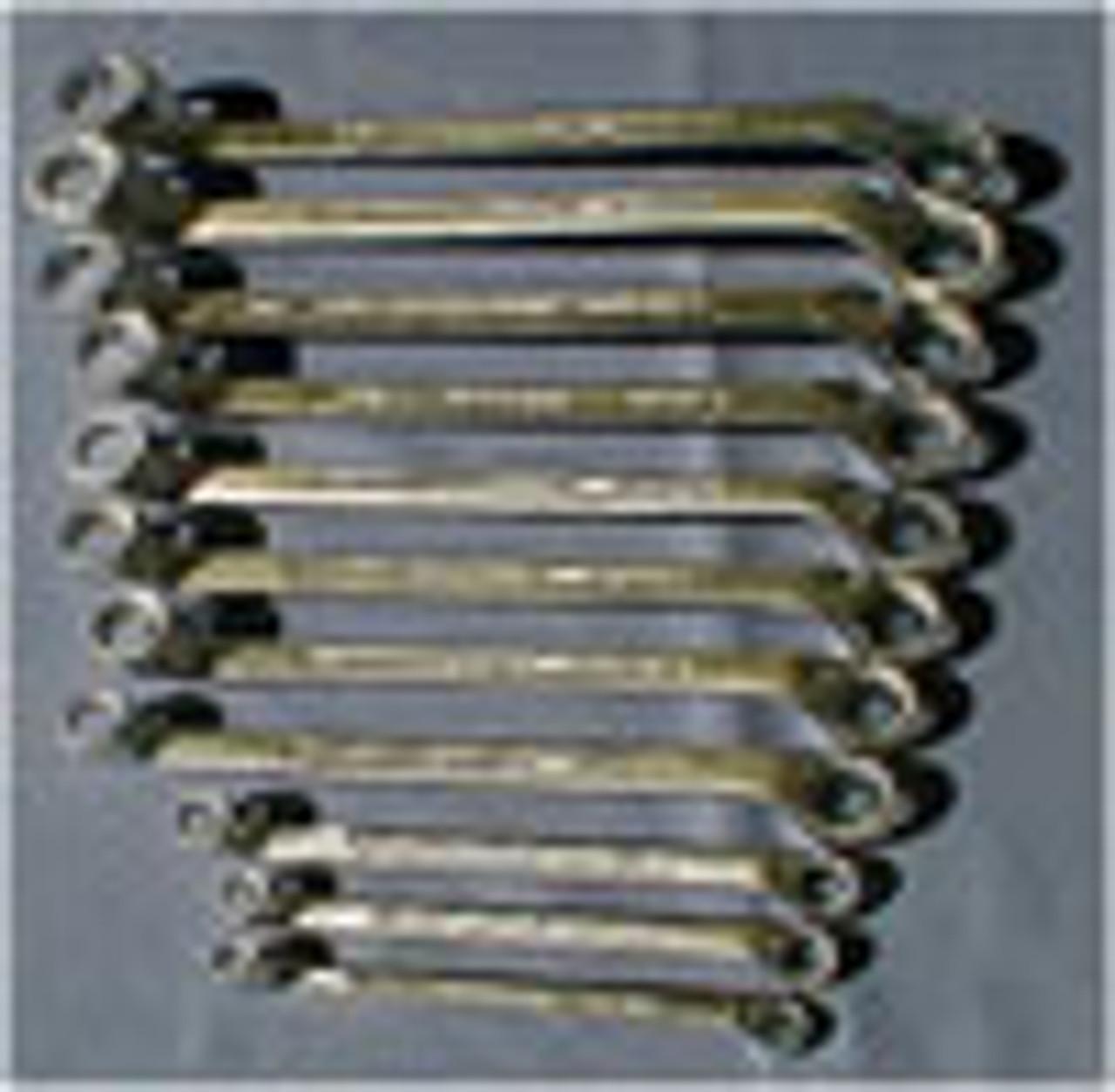 Everest Offset Ring Spanner Bihex Whitworth 11 piece Set - (ER13)