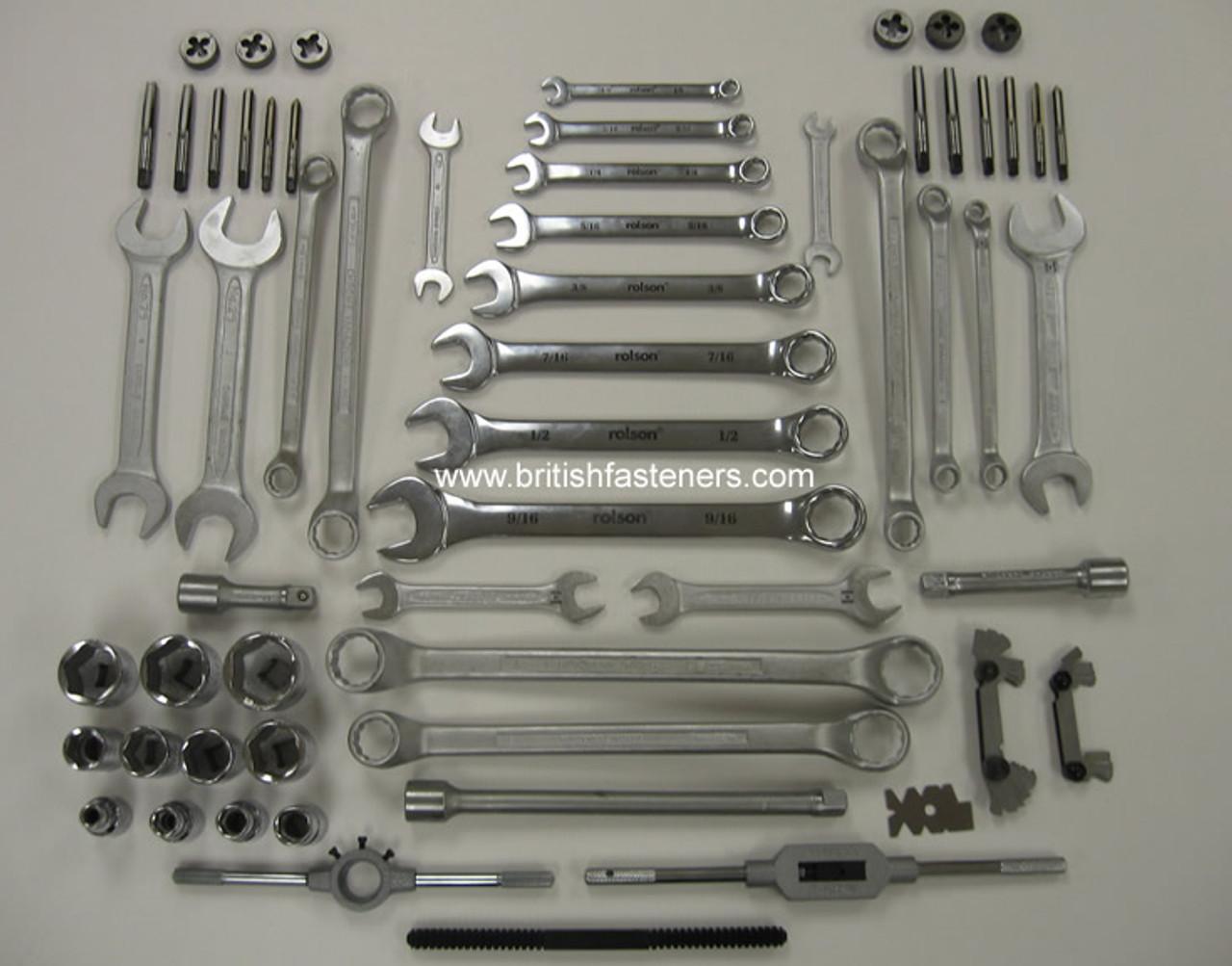 Ultimate Whitworth Tool Kit - (4010)