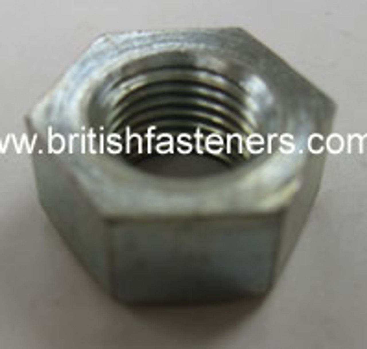 "BSF / BSC 1/4"" - 26 SINGLE CHAMFER NUT  (2357)"