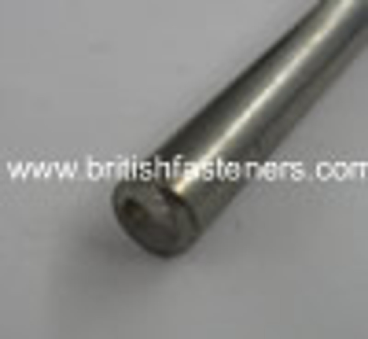 """1/4"""" STAINLESS ROUND BAR x 10"""" LONG - (5118)"""