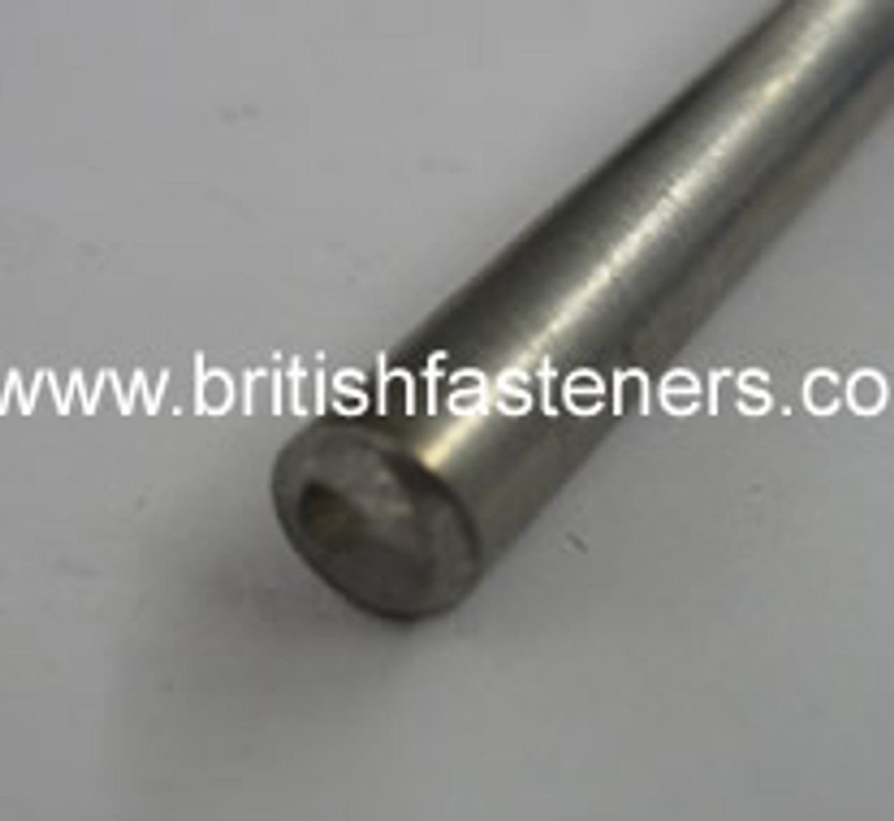 """5/16"""" STAINLESS ROUND BAR x 10"""" LONG - (5119)"""