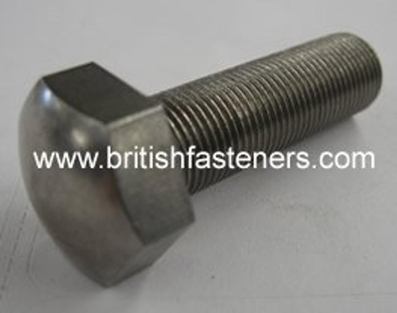 "BSF/BSC 1/4""-26 x 5/8"" Domed Hex Screw - (6487)"