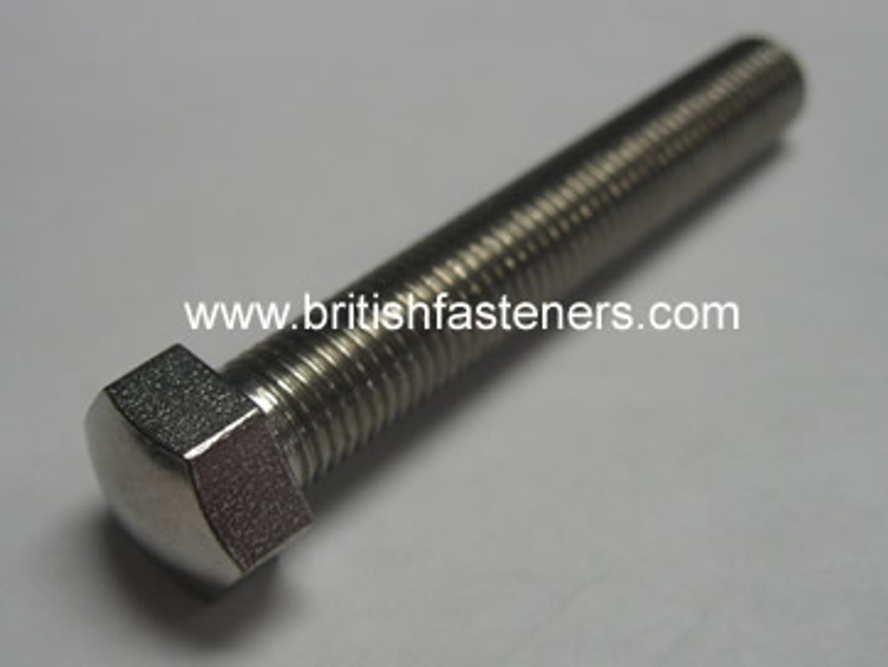 """BSC - CEI 5/16"""" - 26 X 2"""" SMALL HEX DOME SCREW S/S - (6762)"""