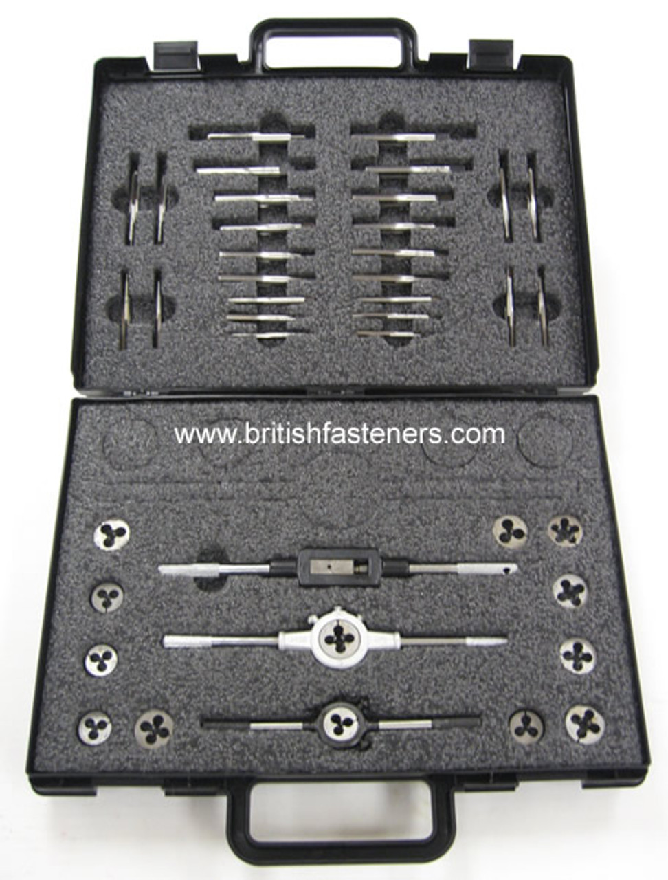 TAP & DIE SET - ASSORTED BRITISH KIT - (4346)