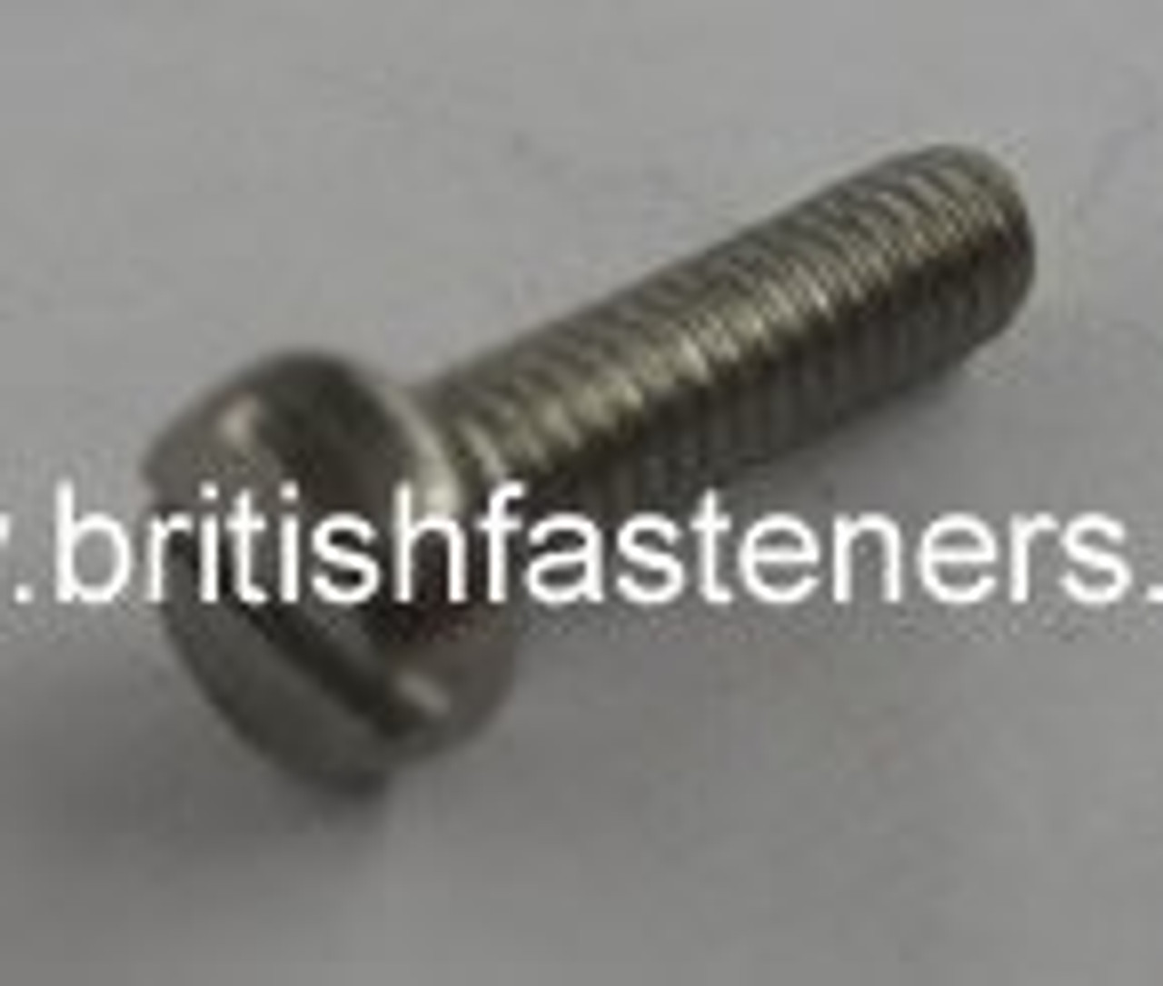 "1 BA x 1"" STAINLESS CHEESEHEAD SCREW - (6608)"