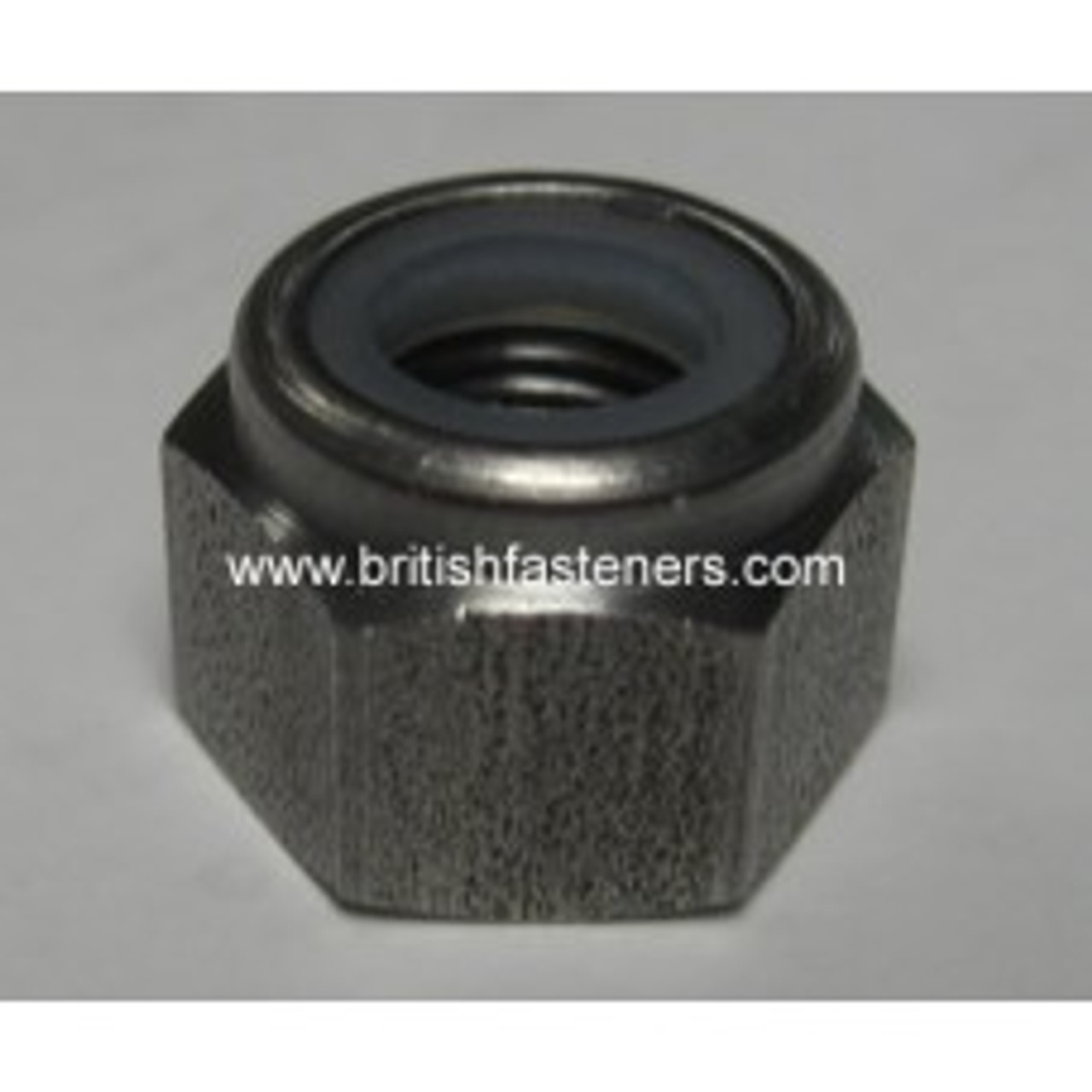 BSC 1/2 - 26 Nylock Nut Stainless