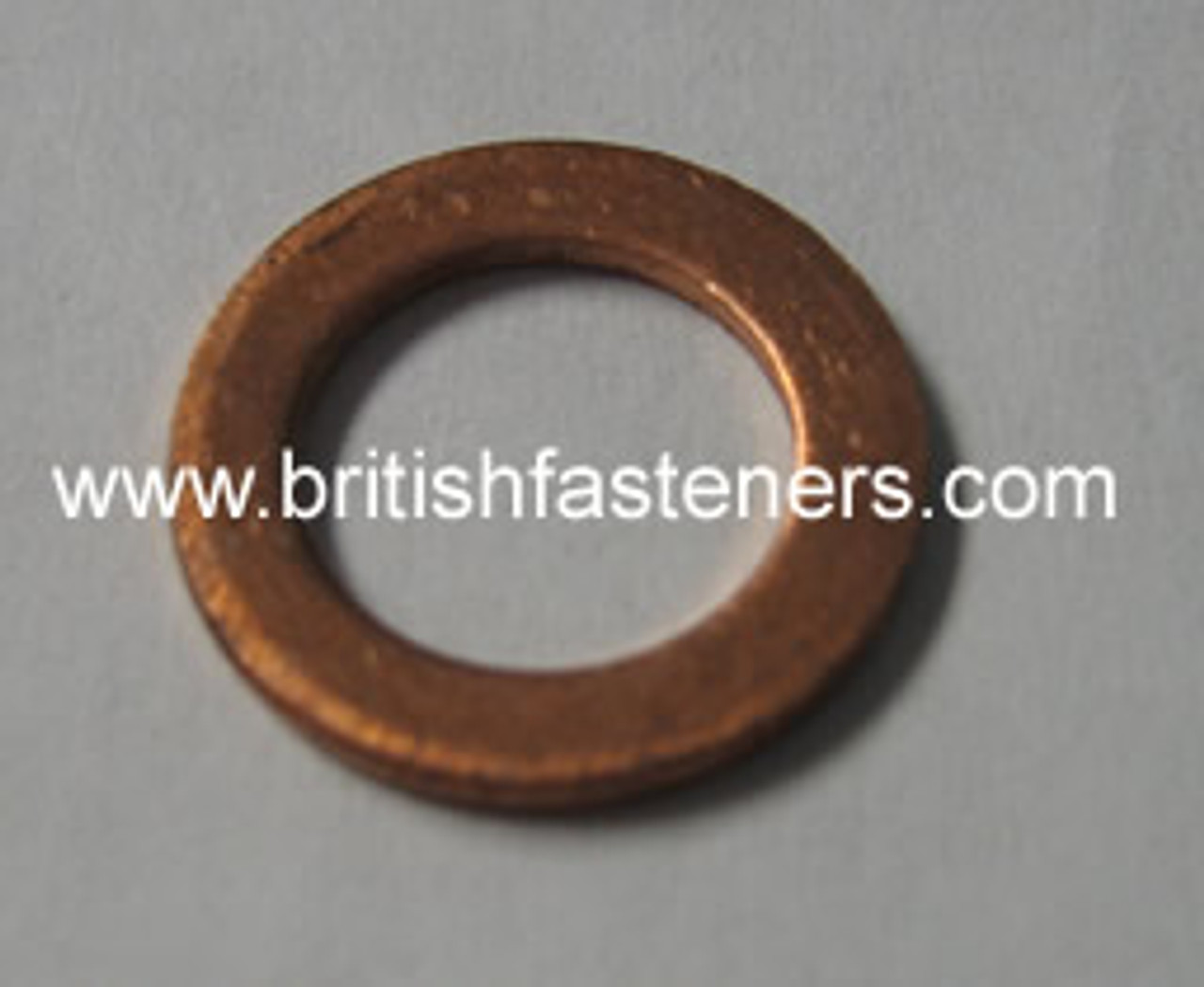 """1/8"""" BSP (M10) COPPER SEALING WASHER - (6353)"""