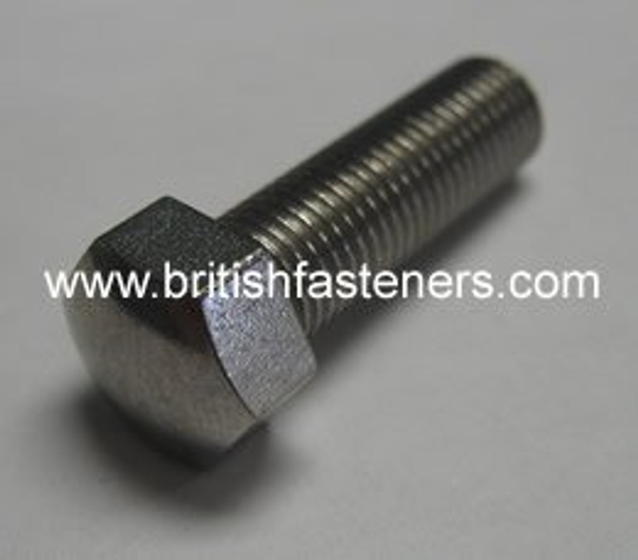 """BSC - CEI 5/16"""" - 26 X 5/8"""" SMALL HEX DOME SCREW S/S - (6760A)"""
