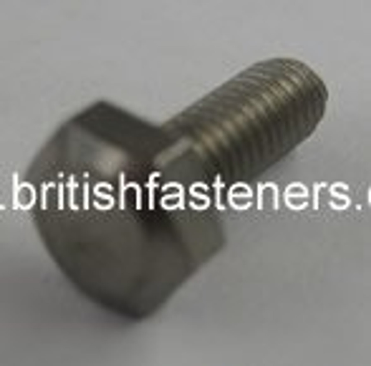 """2BA HEX SCREW X 3/4"""" STAINLESS - (6592A)"""
