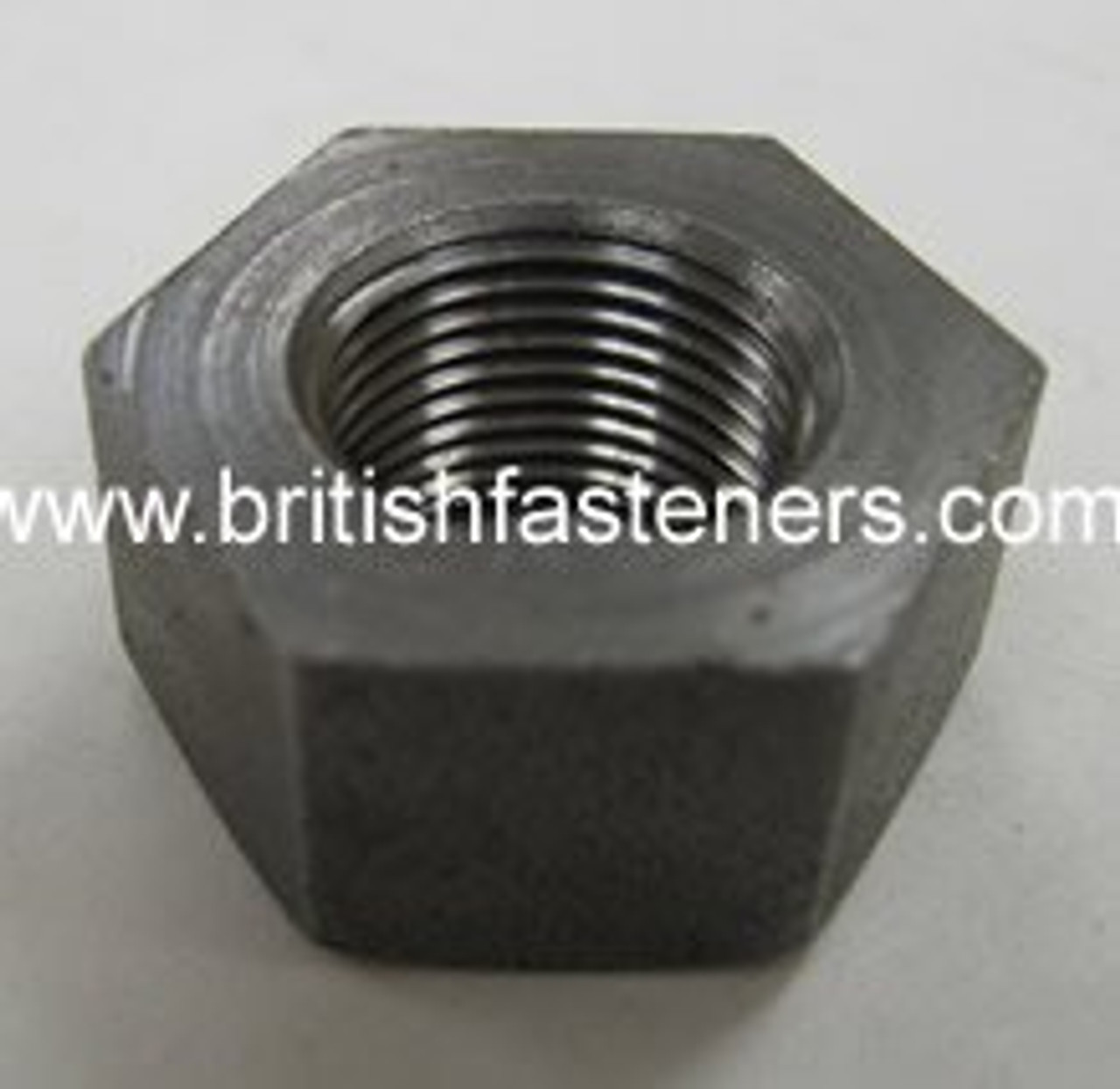 """BSC 5/16"""" - 26 SMALL HEX THIN NUT S/S - (7140A)"""