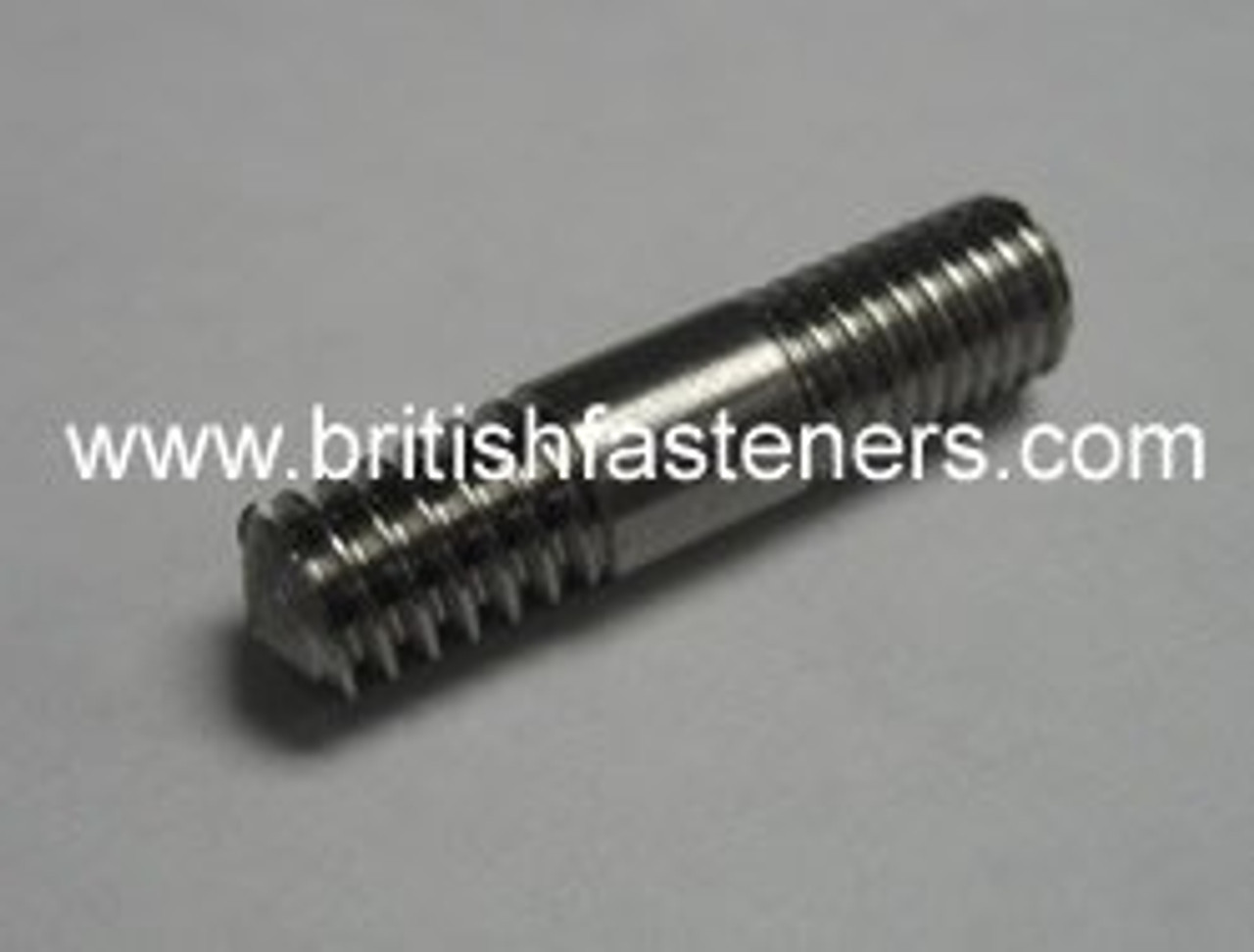 "UNF 1/4"" x 1-1/4"" LONG STUD - 28 TPI - (91)"