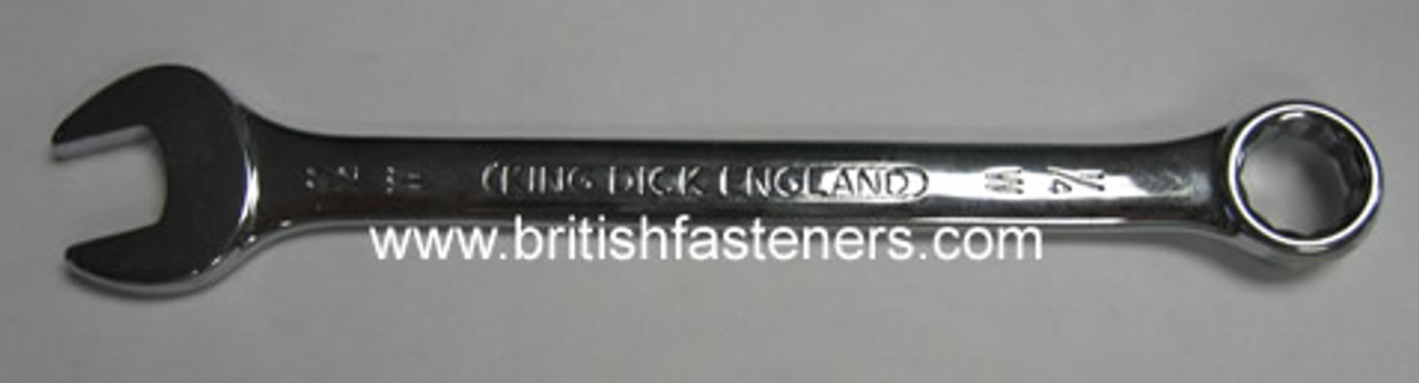 """KING DICK 1/8""""W COMBINATION WRENCH"""