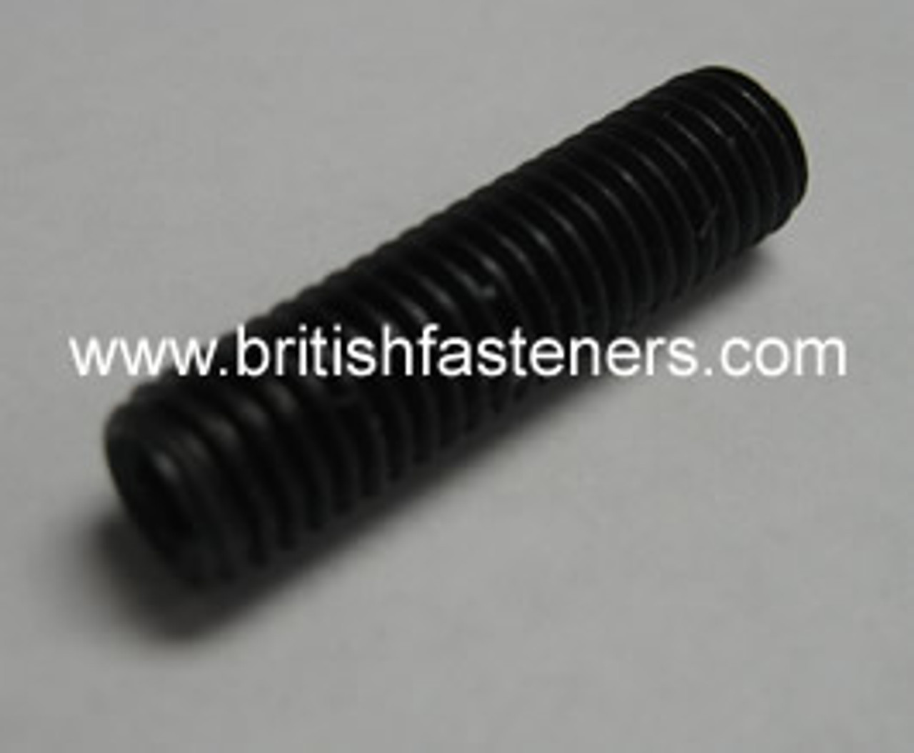 "GRUB SCREW BSF 1/4"" - 26 x 1/2"" LONG - (6131A)"
