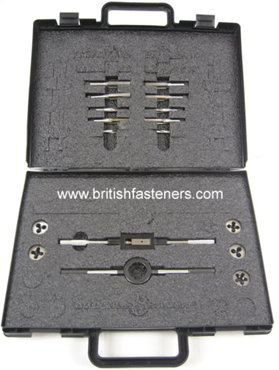 TAP & DIE SET BSC - CEI  - 17 pieces - (4335)