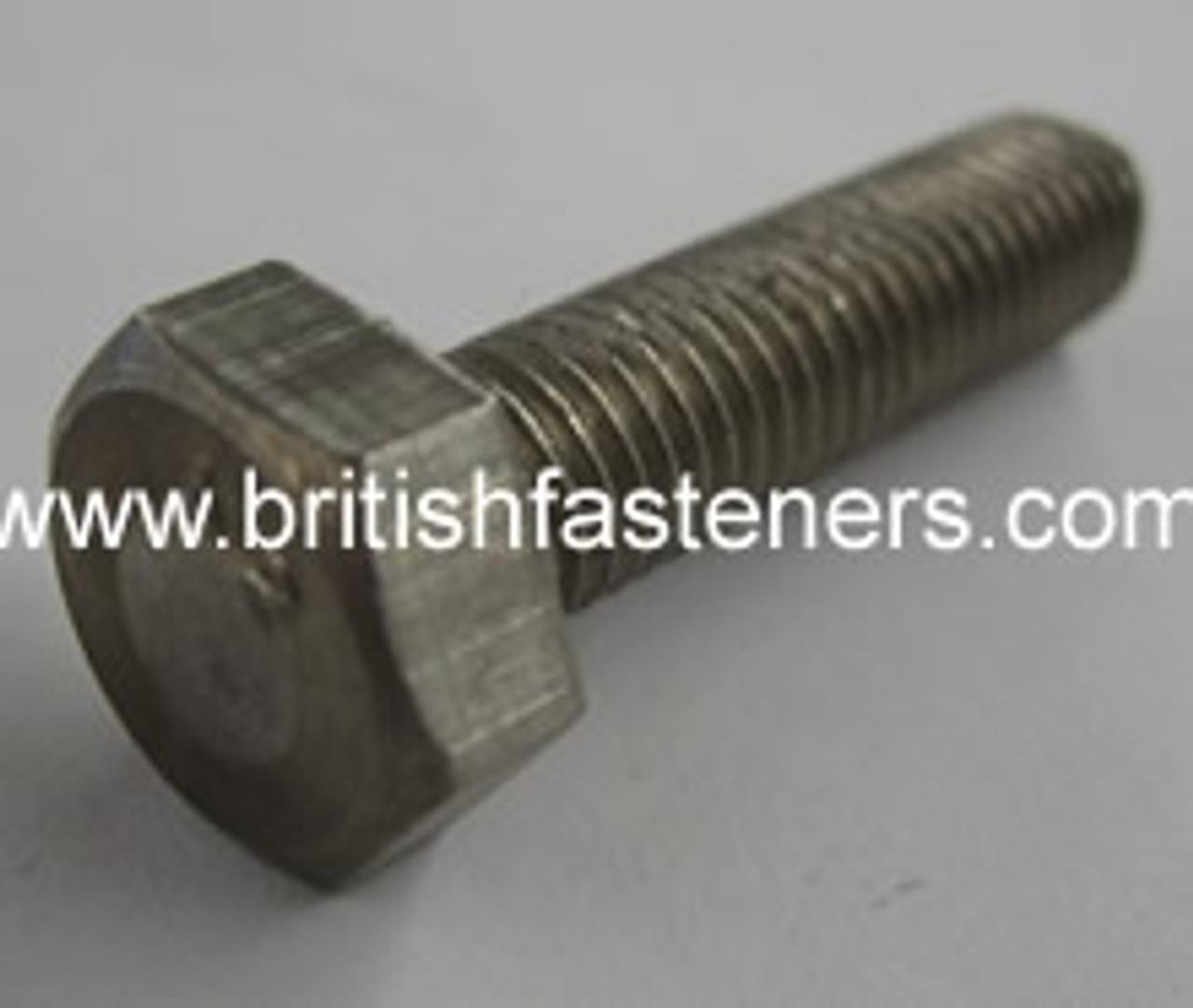 "Stainless Bolt BSF Hex 5/16 x 1-1/4"" - (6365)"