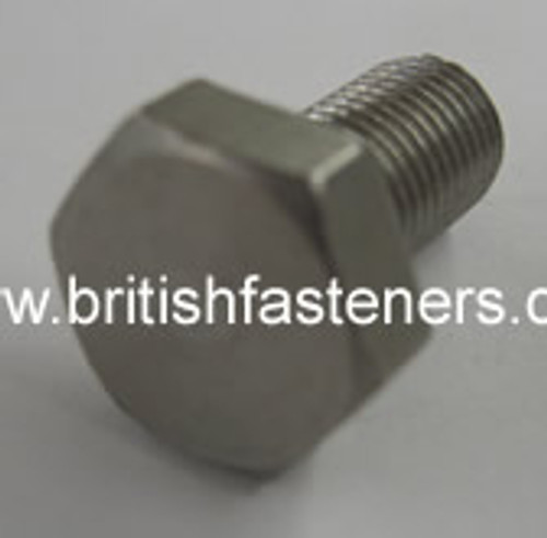 """BSC Stainless SET SCREW 3/8 - 26 x 1"""" - (6650)"""