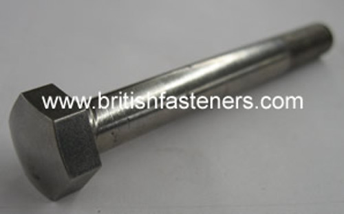 BSC Stainless BOLT DOMED 5/16 x 3 - (6750)