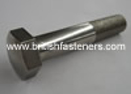 BSC Stainless BOLT DOMED 3/8 x 2 1/2 - (6775)