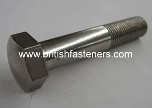 BSC Stainless BOLT DOMED 3/8 x 3 - (6780)