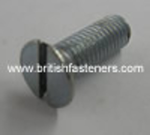 "BSF BOLT C-Sunk Slotted 1/4 - 26 x 1/2"" - (1865)"