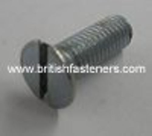 """BSF BOLT C-Sunk Slotted 1/4 - 26 x 3/4"""" - (1870)"""