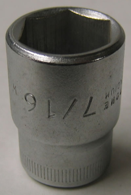 "Everest 7/16"" Whitworth Socket Spanner - (ES6)"