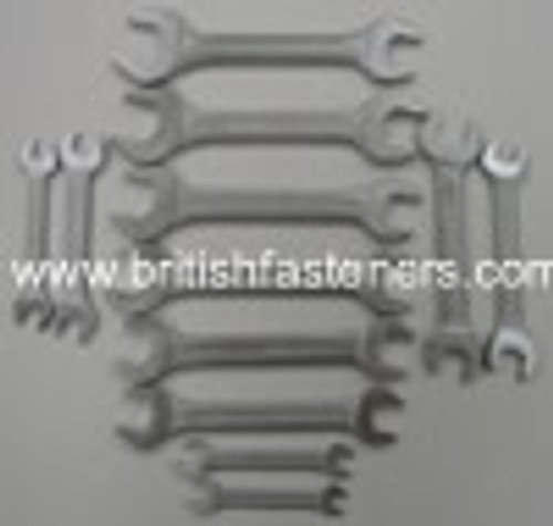 Everest Open Ended Whitworth 12 Piece Spanner Set - (EOE15)