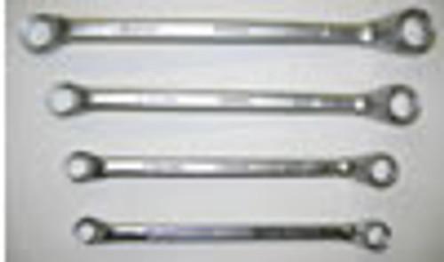 Everest Offset Ring Spanner Bihex Whitworth 4 piece Set - (ER14)