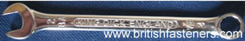 KING DICK 2BA COMBINATION WRENCH - (7794)
