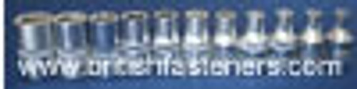 "KING DICK 1/4"" SD, 11 PC, 0BA - 10BA SOCKET SET - (7797)"