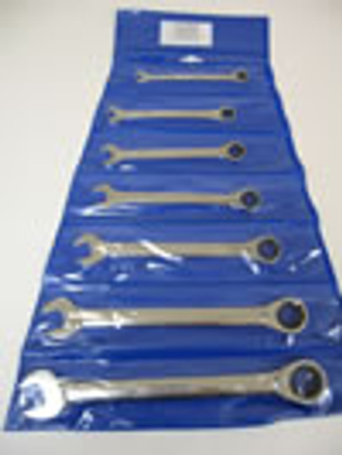 KING DICK RATCHETING WHITWORTH COMBINATION WRENCH SET (7 PCS) - (7798)